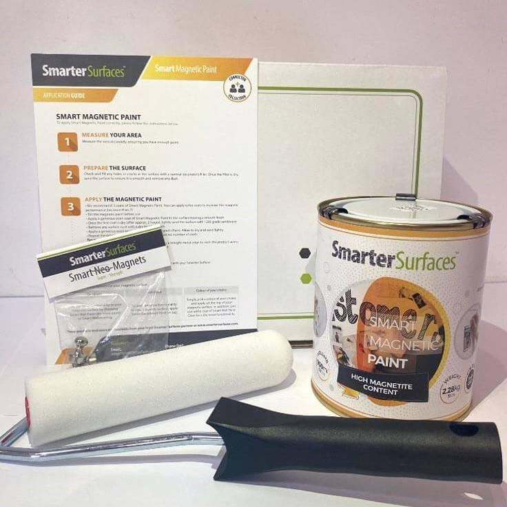 smart-Magnetic-Paint-Full-Kit-box-and-application-guide
