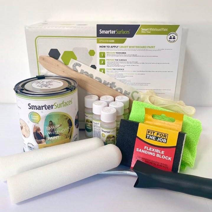 Whiteboard-Paint-Clear-Full-Kit-with-app-guide
