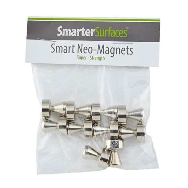 pack of ten smart neo magnets