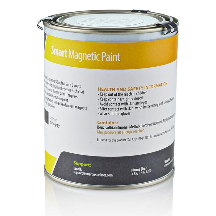 smart magnet wall paint tin