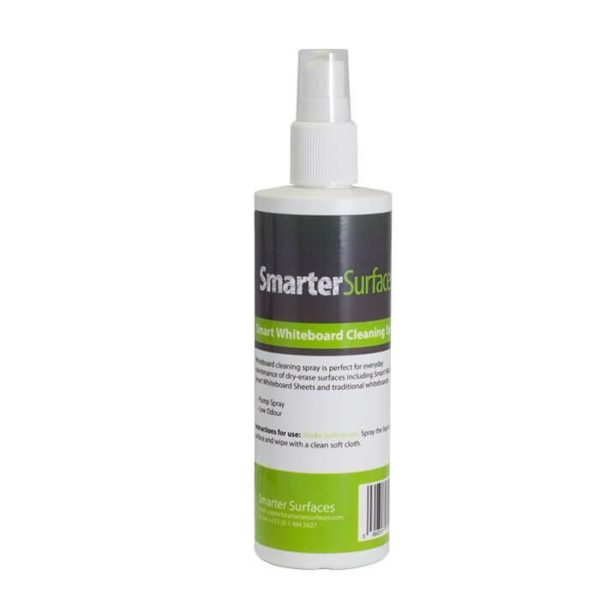 smarter surfaces whiteboard cleaning spray