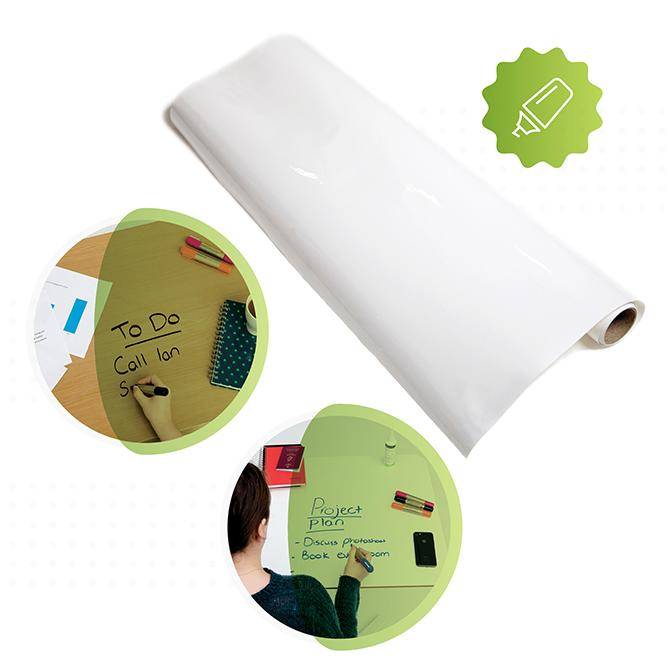 Roll of Smart Self-Adhesive Film white