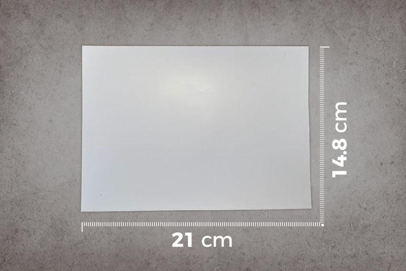 smart-self-adhesive-whiteboard-film-low-sheen-A5-sample-ruler-cm