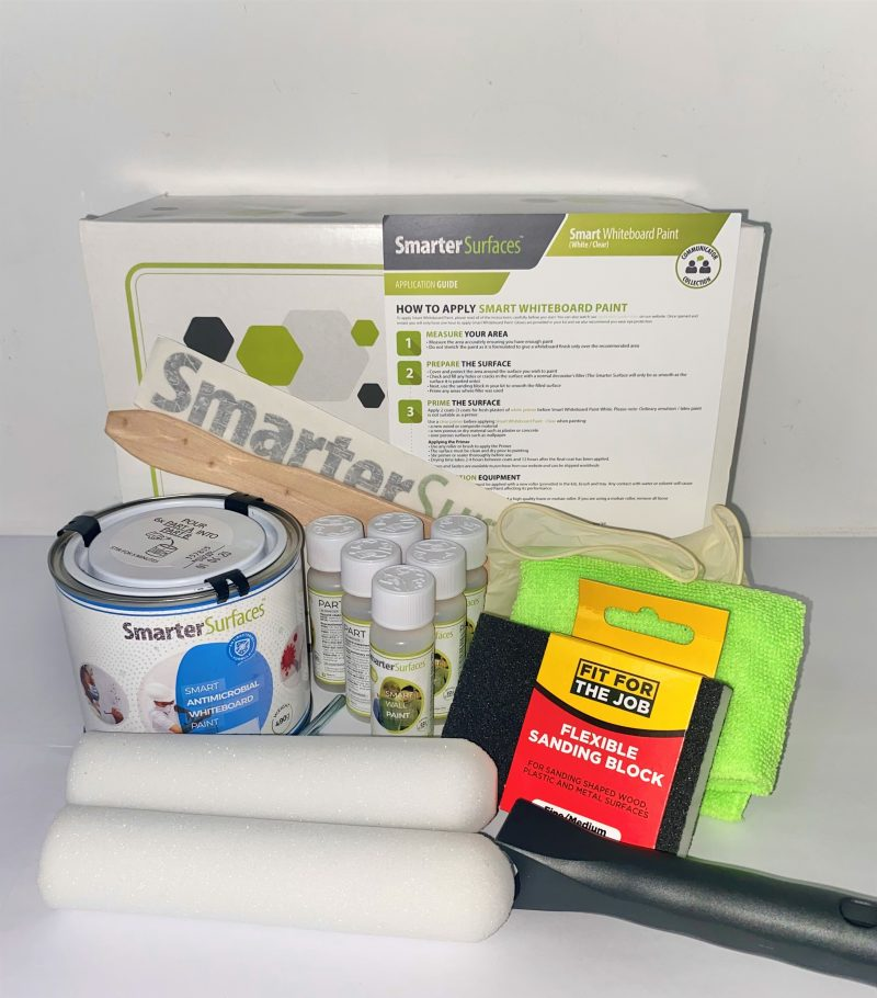 Smart‌-Antimicrobial-whiteboard-paint-kit